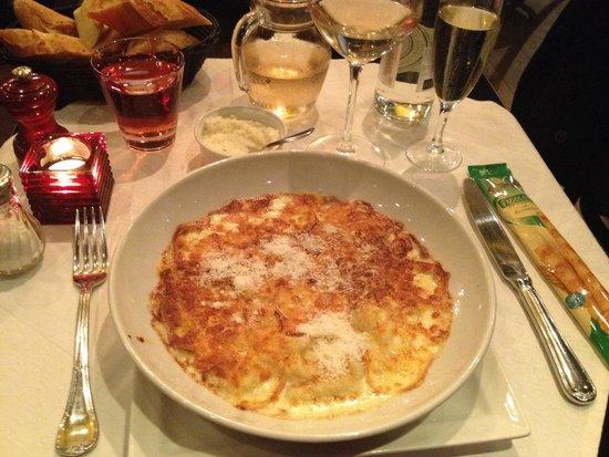 Restaurant Lumen: Gnocchi !