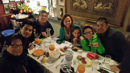 Spice Thai Cuisine: perfect for family visits!