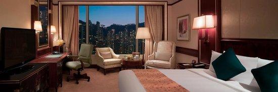 Island Shangri-La Hong Kong: Deluxe Peak View Room