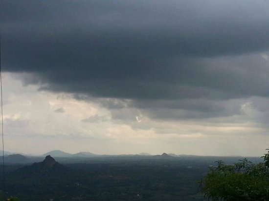 Shivagange: it was a rainy day when we went.