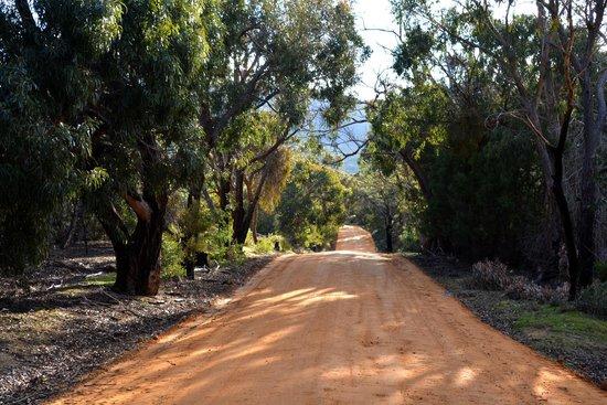 Boroka Downs: entrance off main road