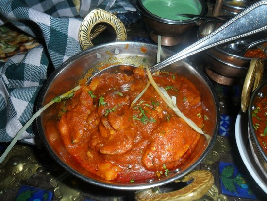 Mumtaz Mahal Indian Speciality Restaurant: Boneless chicken in traditioanl sauce