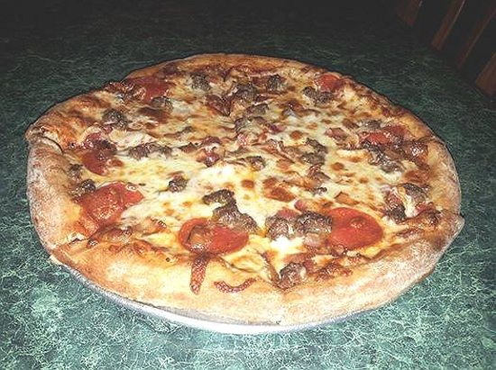 Apollo Restaurant: our pizza
