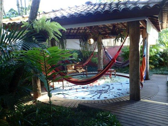 Pousada Tropicana: jardin arrière