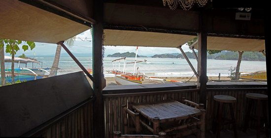 Crazy Coconut : View from the dining area