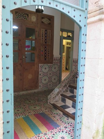 Riad des Palmiers : The entrance hall