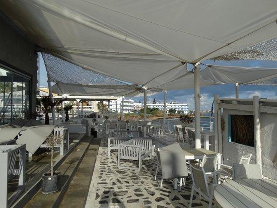 Beachbar kuva glaros beach hotel hersonissos tripadvisor for Boutique hotel glaros