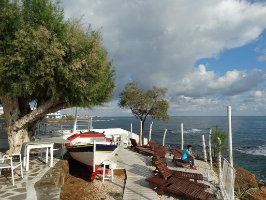 Glaros Beach Hotel : Beachbar