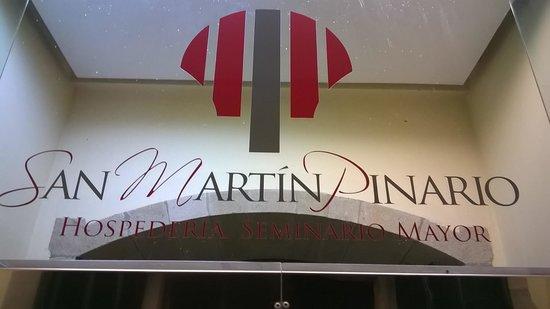 Hospederia San Martin Pinario: Entrée