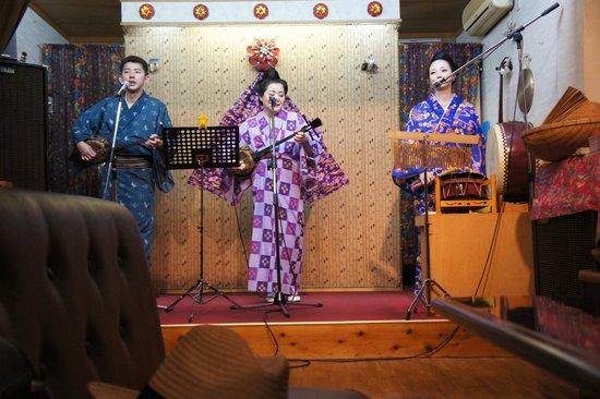 民謡ステージ歌姫