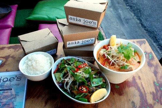 Asia Joe's: Food to go