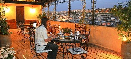 Riad Rcif : Terrasse