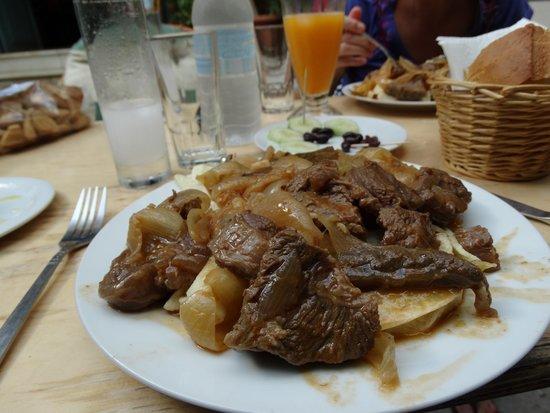 Taverna Aristidis : Stifado