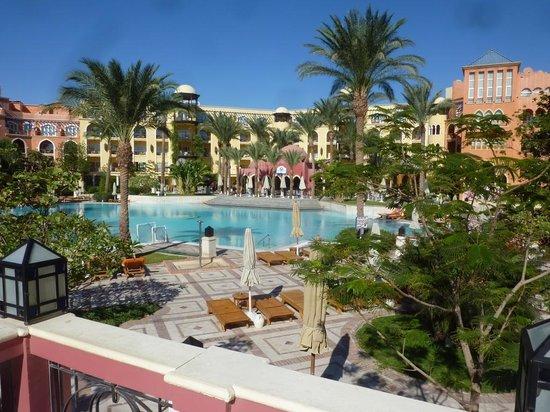 view from mahara terrace  Grand Resort 5*, Єгипет,  Хургада - photo