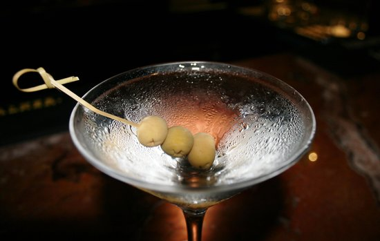 Fairmont Grand Hotel Kyiv: Dry Martini in the bar