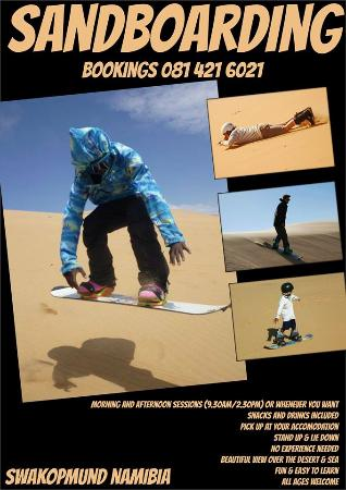 Ultimate Sandboarding