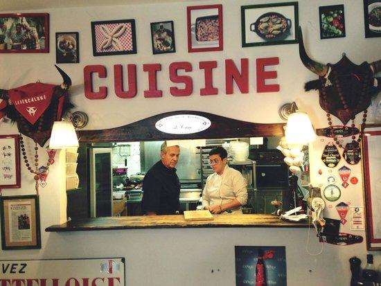 La Cuisine Et La Chef Picture Of Le Bistrot De Caro Lunel