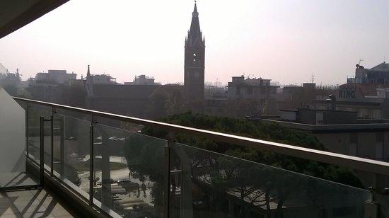 Hotel Club House : Vista dal terazzo