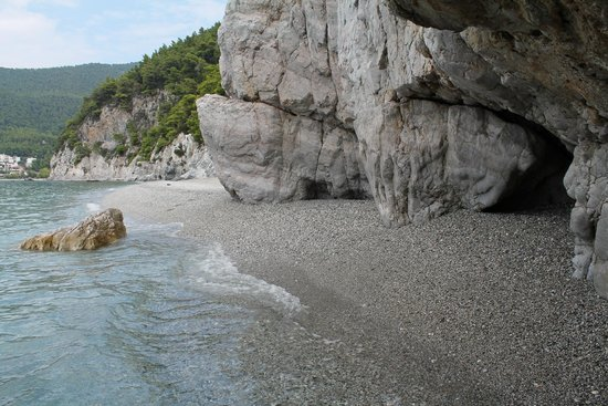 Neo Klima, Greece: Hovolo beach the secluded edge