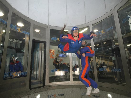 "Airkix Indoor Skydiving Basingstoke: Getting used to the ""fan"" side of life"