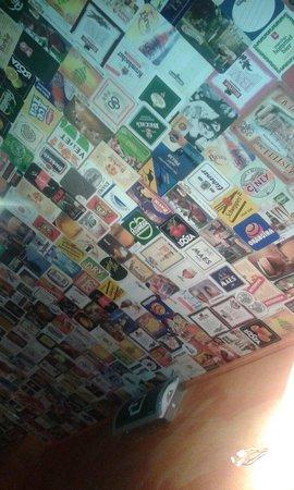 De Trollekelder: The new ceiling