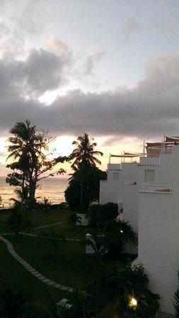 Villa Kalista: Sunrise views from the master balcony