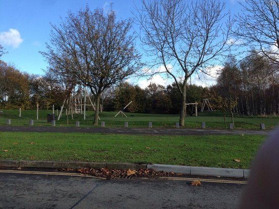 ‪‪Heanor‬, UK: One of the play areas. Prob best suited to older kids .‬