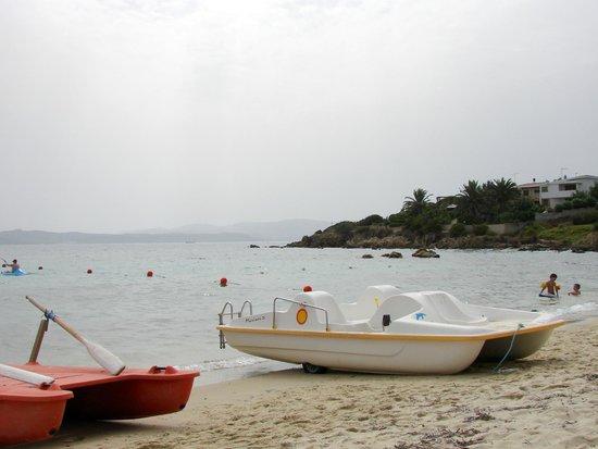 Antica Dimora Olbia: Необычайно приятная вода в море. По ощущениям.