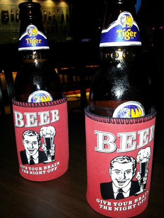 Murphy's Steakhouse: Hilarious beer coolers