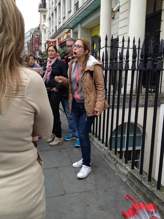 Londres, UK: Tour con Sabina