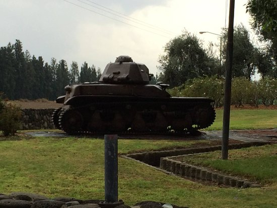 Kibbutz Degania Alef : Historic tank that saved the kibbutz