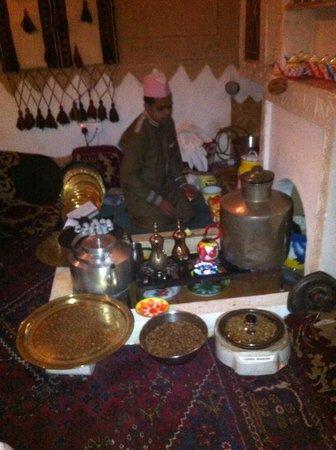 Najd Village : Café traditionnel.