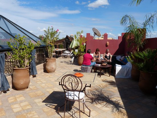 Les Sources Berberes Riad & Spa: Dachterrasse
