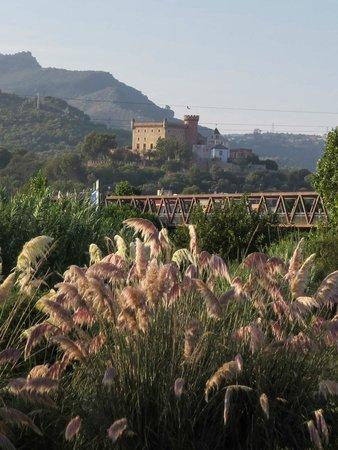 Hotel Pitort : Вид на замок