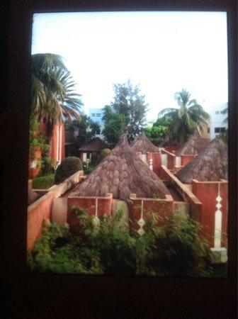 Hotel Mande: Vu des toit