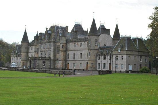 Callendar House: The exterior