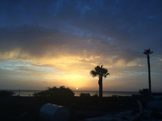 Finca de Arrieta: sunrise
