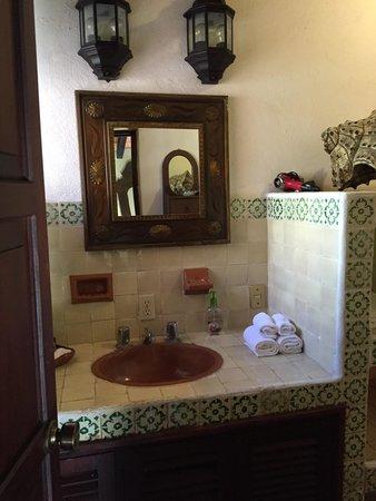 Casa Fantasia: Bathroom with toiletries included
