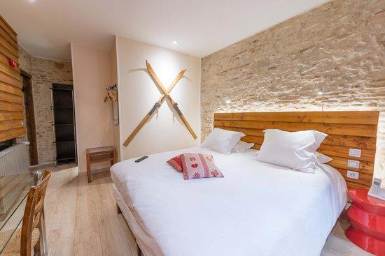 Chambre charme chamonix photo de hotel de l 39 europe for Chambre chamonix