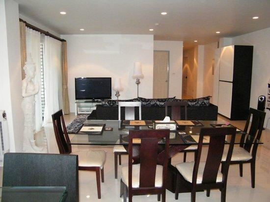 royal kamala phuket condominium salle a manger