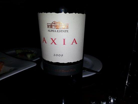 Trata Greek Taverna: Excellent Wine