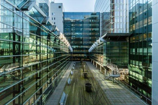 โรงแรมคิวบิค อัมสเตอร์ดัมWTC: Exterior