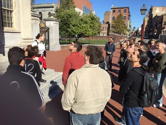 The Constitutional Walking Tour of Philadelphia: Our Tour