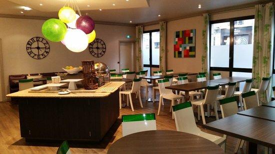 Hotel Paris Louis Blanc: sala colazioni