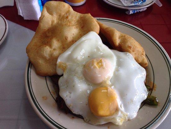 Hotel Alcala : Bistec de desayuno