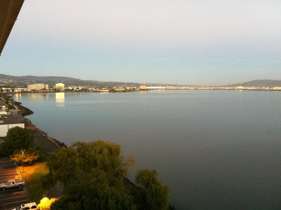 Embassy Suites by Hilton Hotel San Francisco Airport (SFO) - Waterfront: View of the Ocean from the room at 9th floor