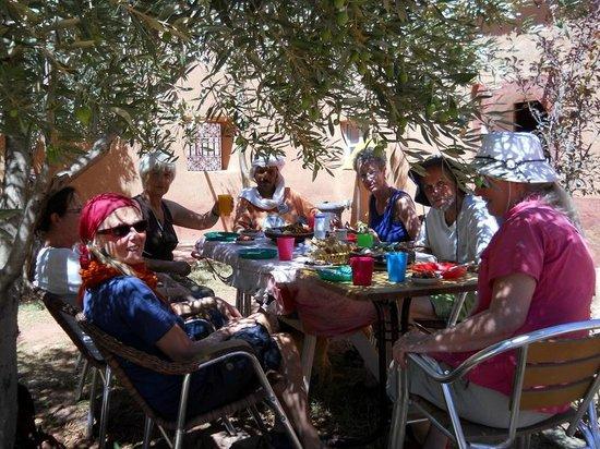 Dar Tougha: Na een heerlijke wandeldag ontspannen onder de olijfbomen