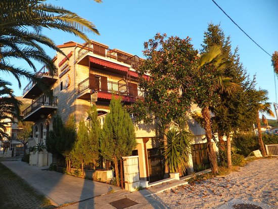 Pension Dioklecijan: Hotel as it appears in October 2014