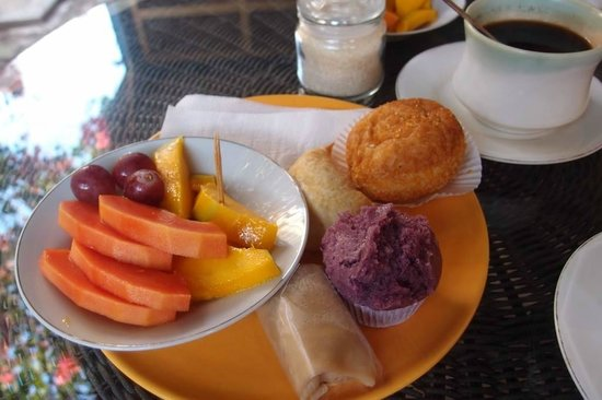 ViaVia Guesthouse : Day-1 Breakfast