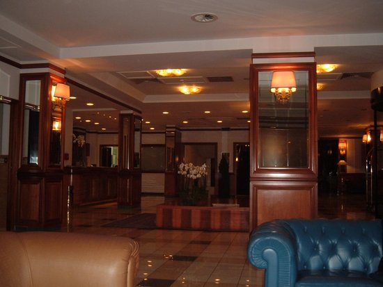 Grand Hotel Tiberio: reception